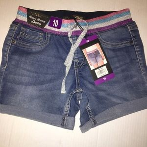 NWT girls sz 10 vigoss shorts
